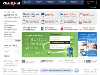 Click2Mail Direct Mail Marketing