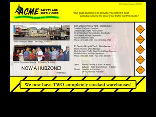 Acme Safety & Supply, Inc.
